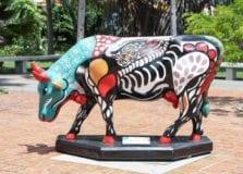 Shopping da Bahia recebe todas as esculturas da Cow Parade Brasil