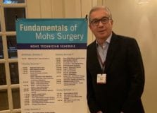 Miguel Brandão se torna membro da American Society for Mohs Surgery