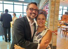 Tereza Paim inaugurou o restaurante Mesa de Tereza no Aeroporto de Salvador