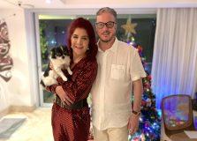 Jussara e Carlos Amorim realizaram jantar de Thanksgiving Day