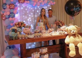 Mila Argolo e Luciano Simões Filho estão grávidos