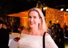 Renata Andrade marca presença no lançamento do Anota Bahia