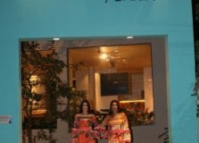Thereza Priore produziu hostess da festa de lançamento do Anota Bahia