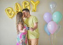 Edgard Abbehusen e Jéssica Leite estão grávidos