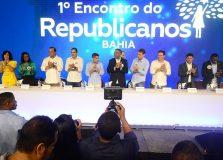 Convenção do Republicanos aconteceu nesta sexta-feira em Salvador