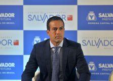 """""""Liguei para João Doria para reafirmar o nosso interesse na compra da Coronavac"""", diz Bruno Reis"""
