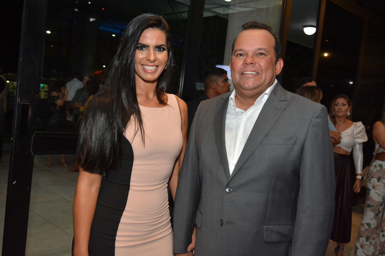 Adriana Rangel e Geraldo Junior