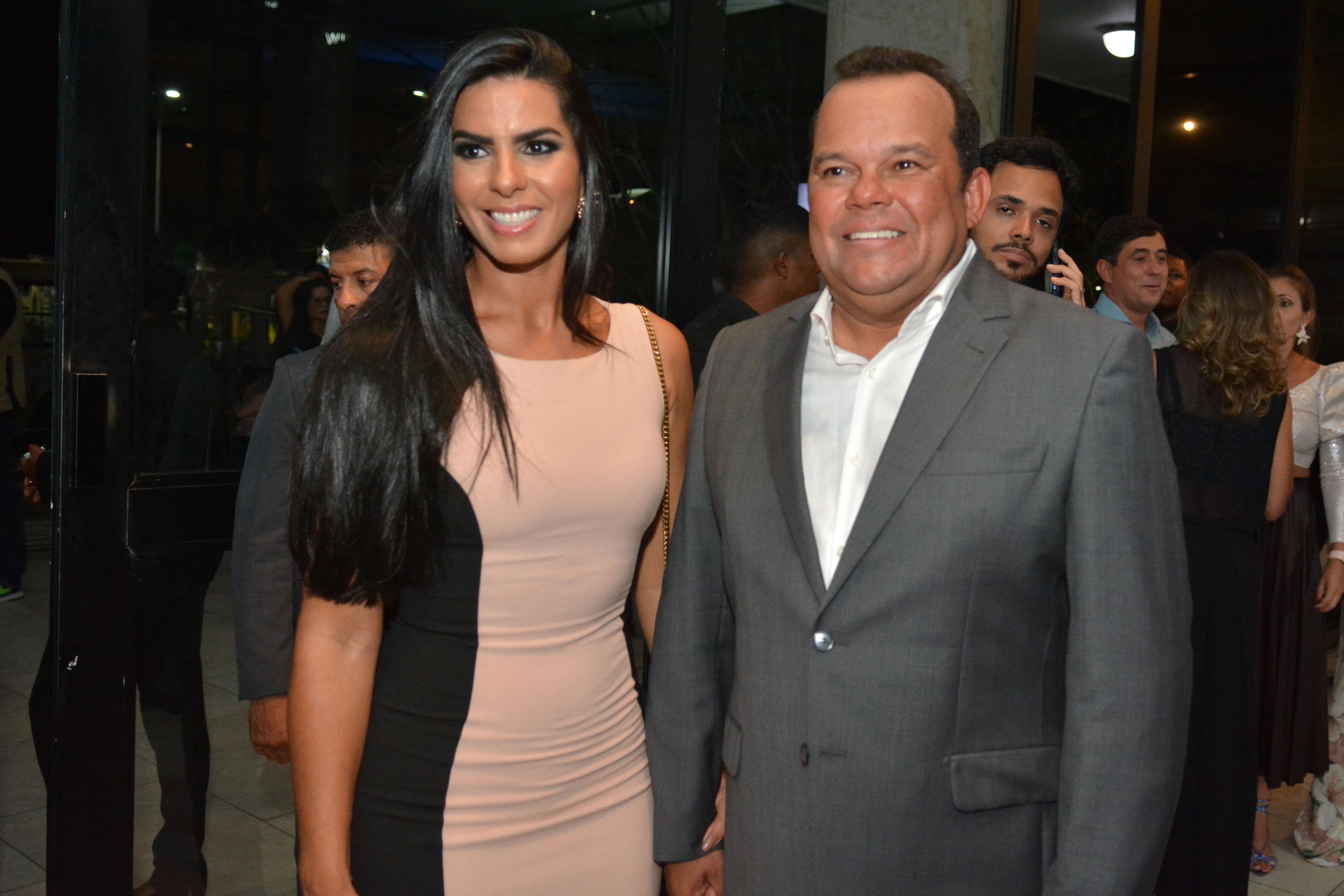 Adriana Rangel e Geraldo Júnior