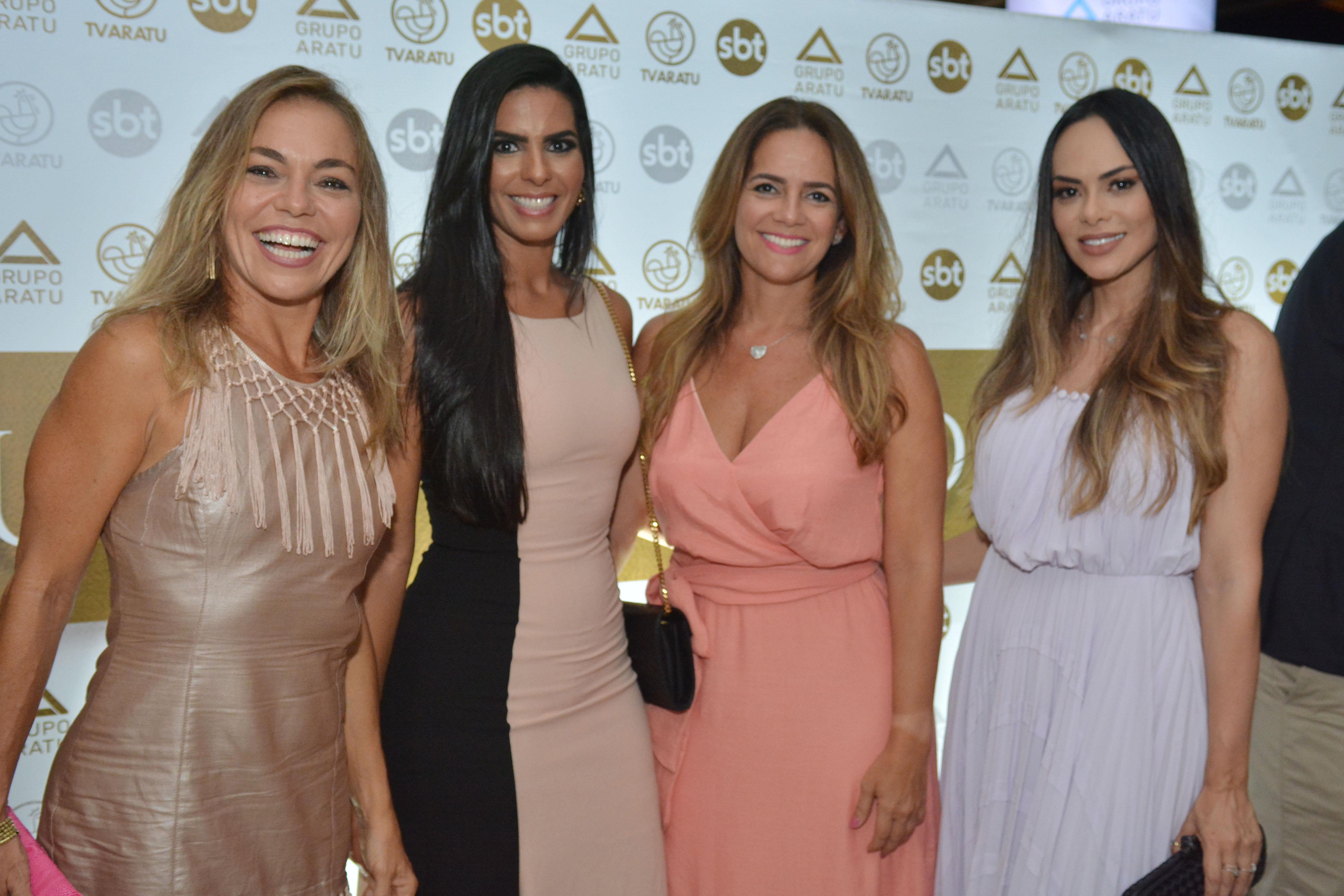 Fatima Berenguer, Adriana Rangel, Luciana Ramos e Rebeca Cardoso