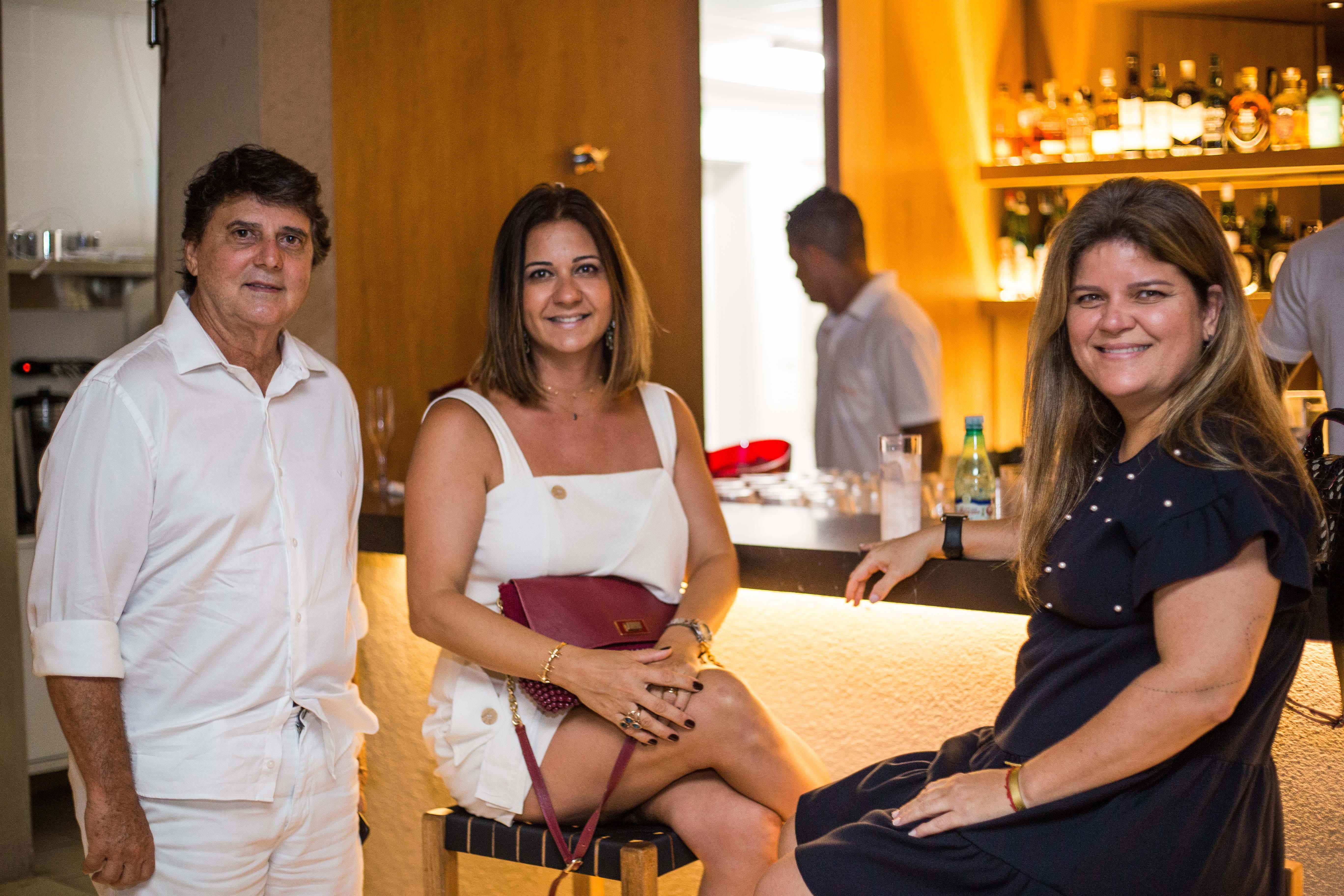 Renato Tourinho, Simone Selem e Gabriela Daltro