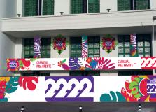 Camarote Expresso 2222 deixa Edifício Oceania no Carnaval 2020
