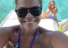 Daniela Falcão e Juliana Santos passam férias nas Maldivas