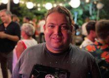 Luiz Mercês Jr. comparece em evento da Coca Cola Shoes no Rio de Janeiro