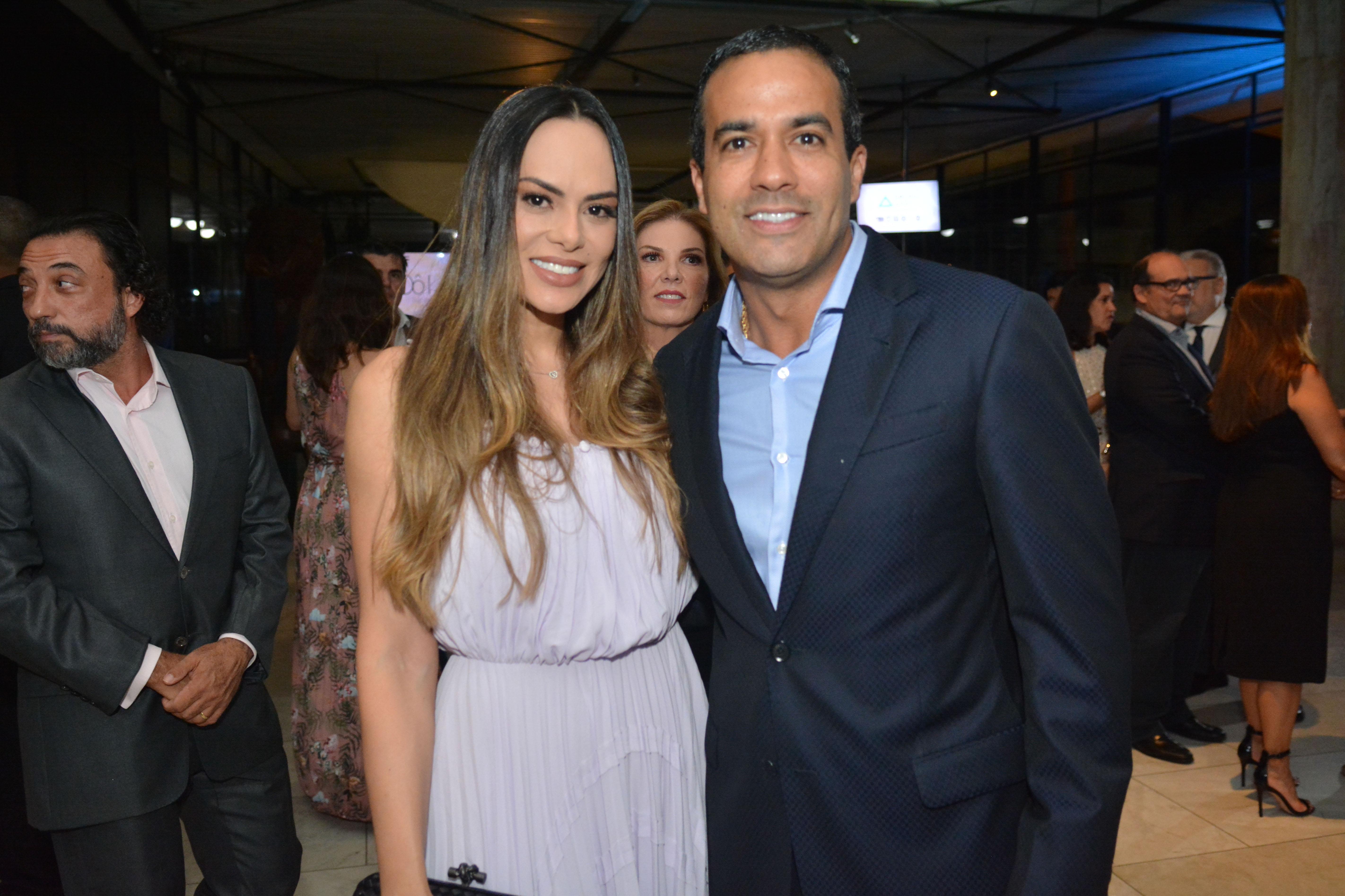 Rebeca Cardoso e Bruno Reis