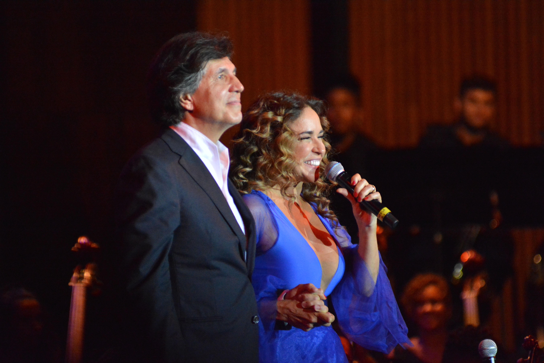 Ricardo Castro e Daniela Mercury