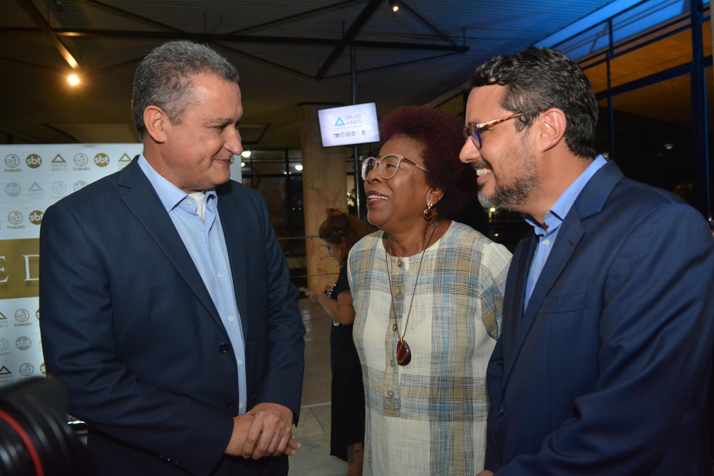 Rui Costa, Arany Santana e Fausto Franco