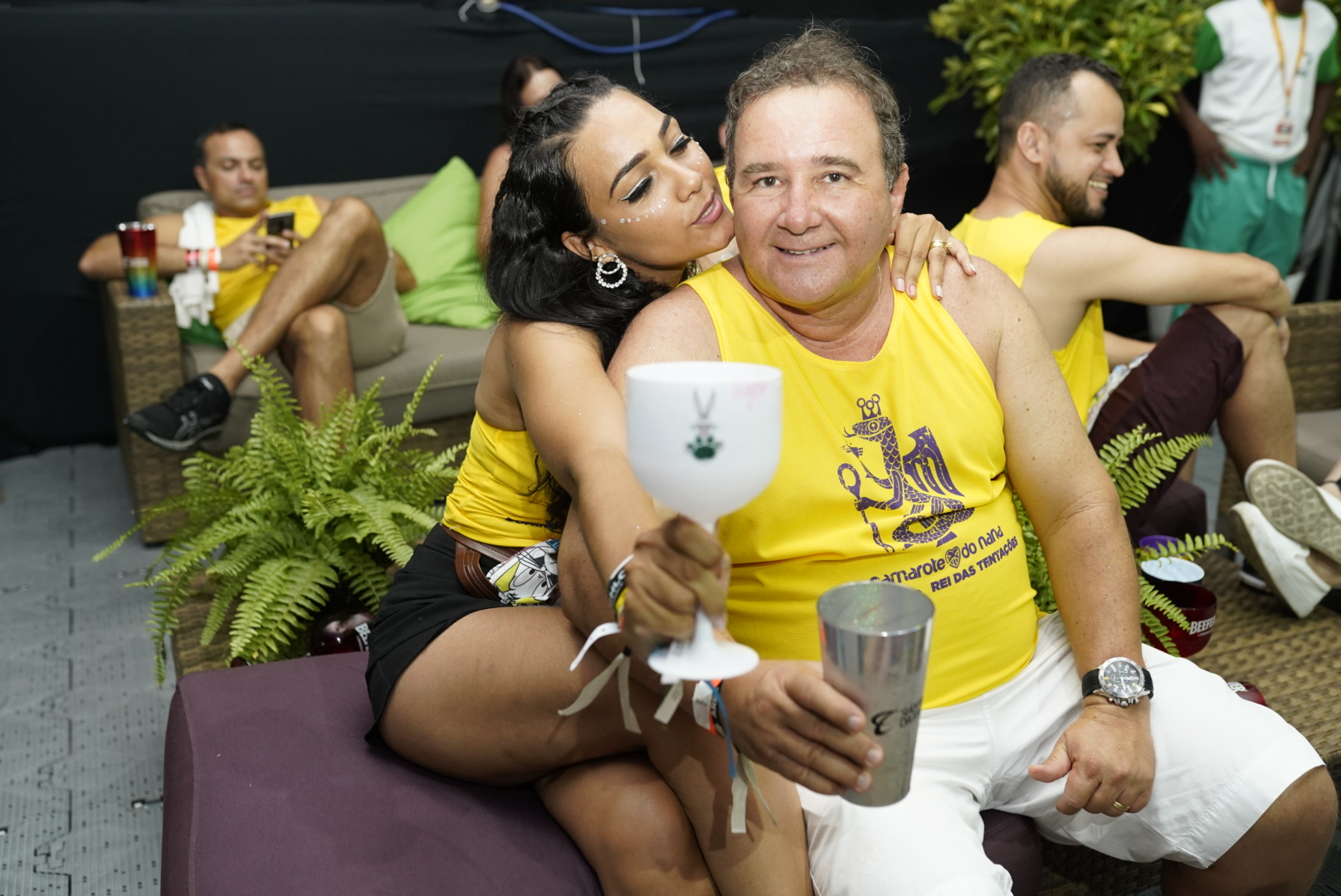 Áurea Reis e Luciano Villas Boas