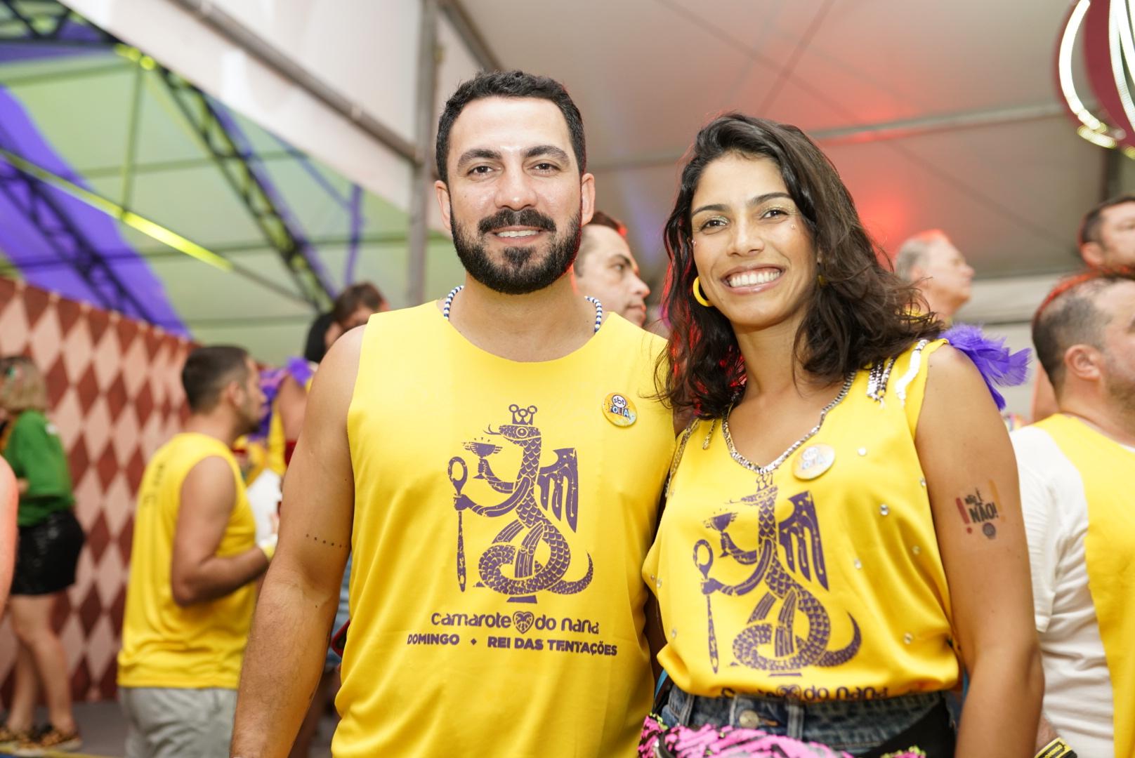 Nathália Perdomo e Rodrigo Farias