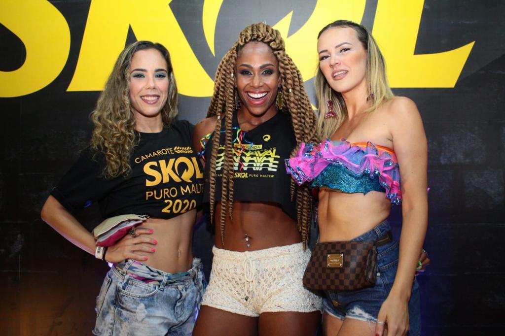 Cau Castro, Lise Oliveira, Vanmilla Freitas