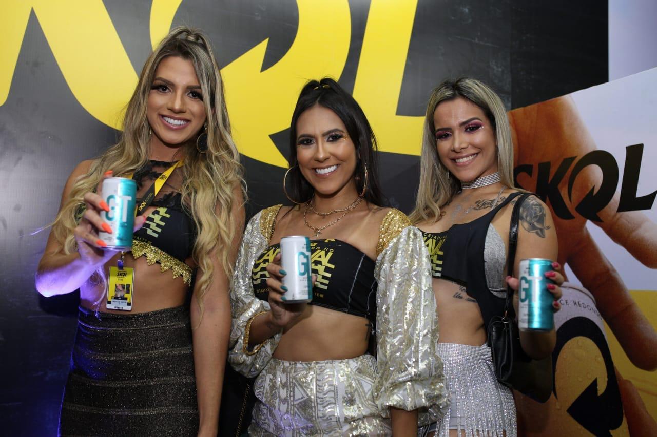 Priscila Santos, Eliana Lima e Nina Brandão