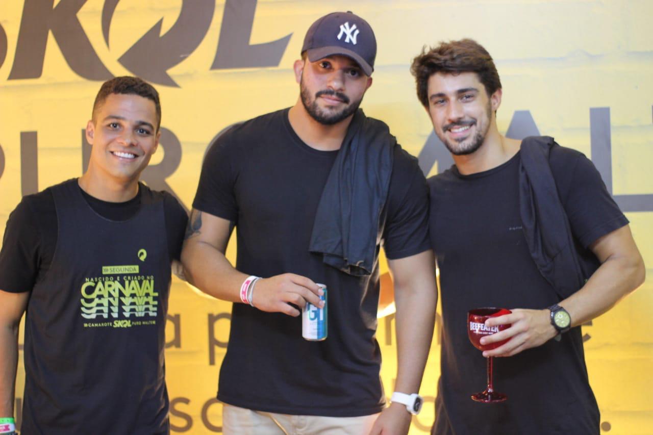 Thales Motta, Rafael Medeiros e Gabriel da Matta