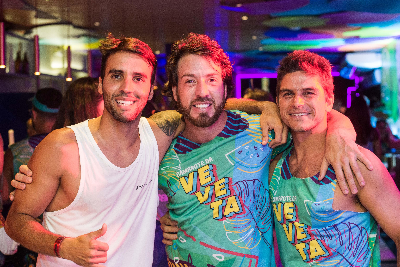 Daniel Cady, Raphael Castor e Arthur Sehbe