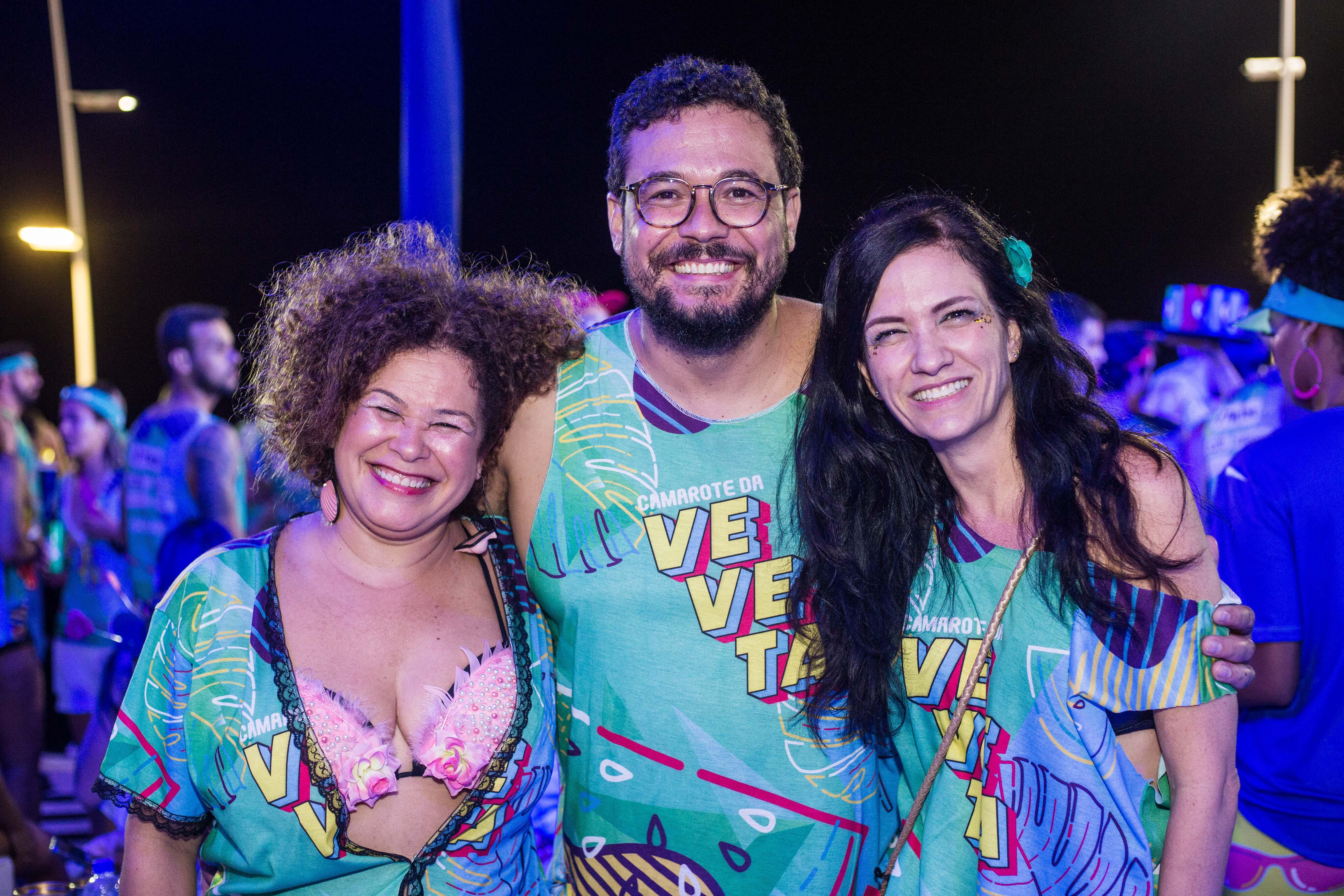 Lia Pinho, Ricardo Silva e Cris Visnevsky