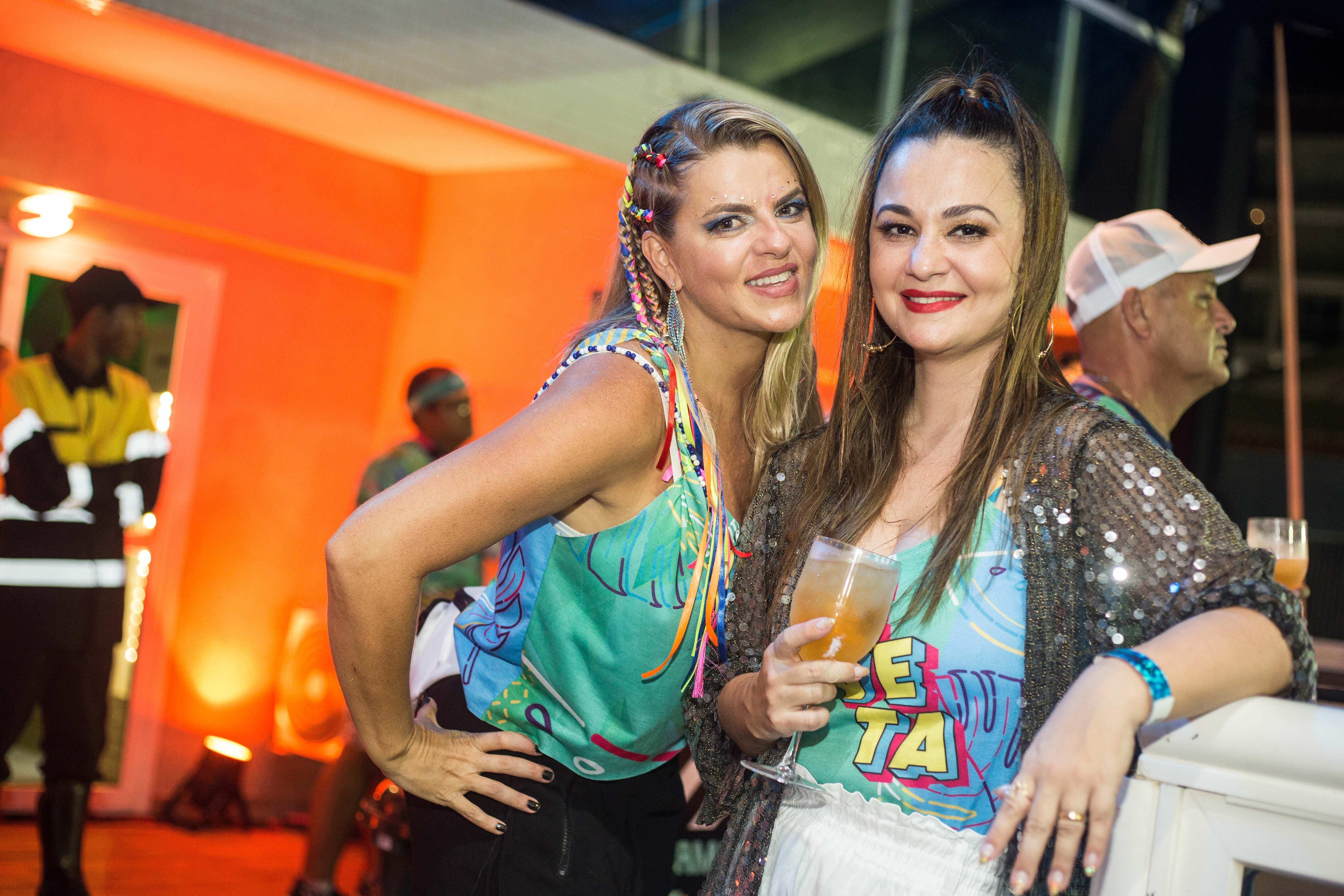 Monica Ribeiro e Mayka Schneider