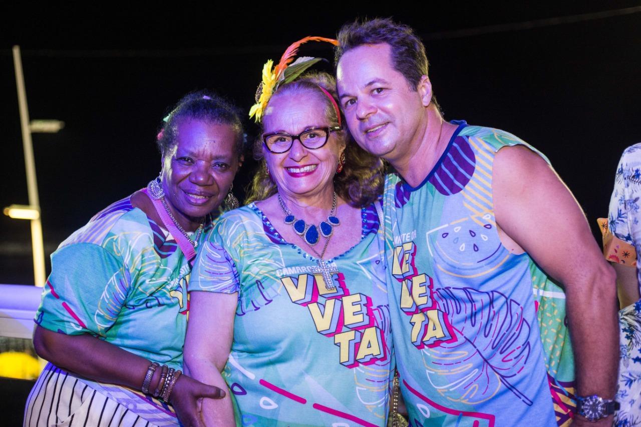 Neuza Borges, Maria José e Flavio Vieira
