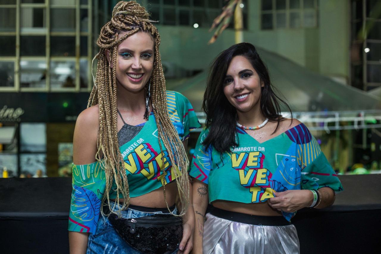 Rafaela Fernandes e Deise Oliveira