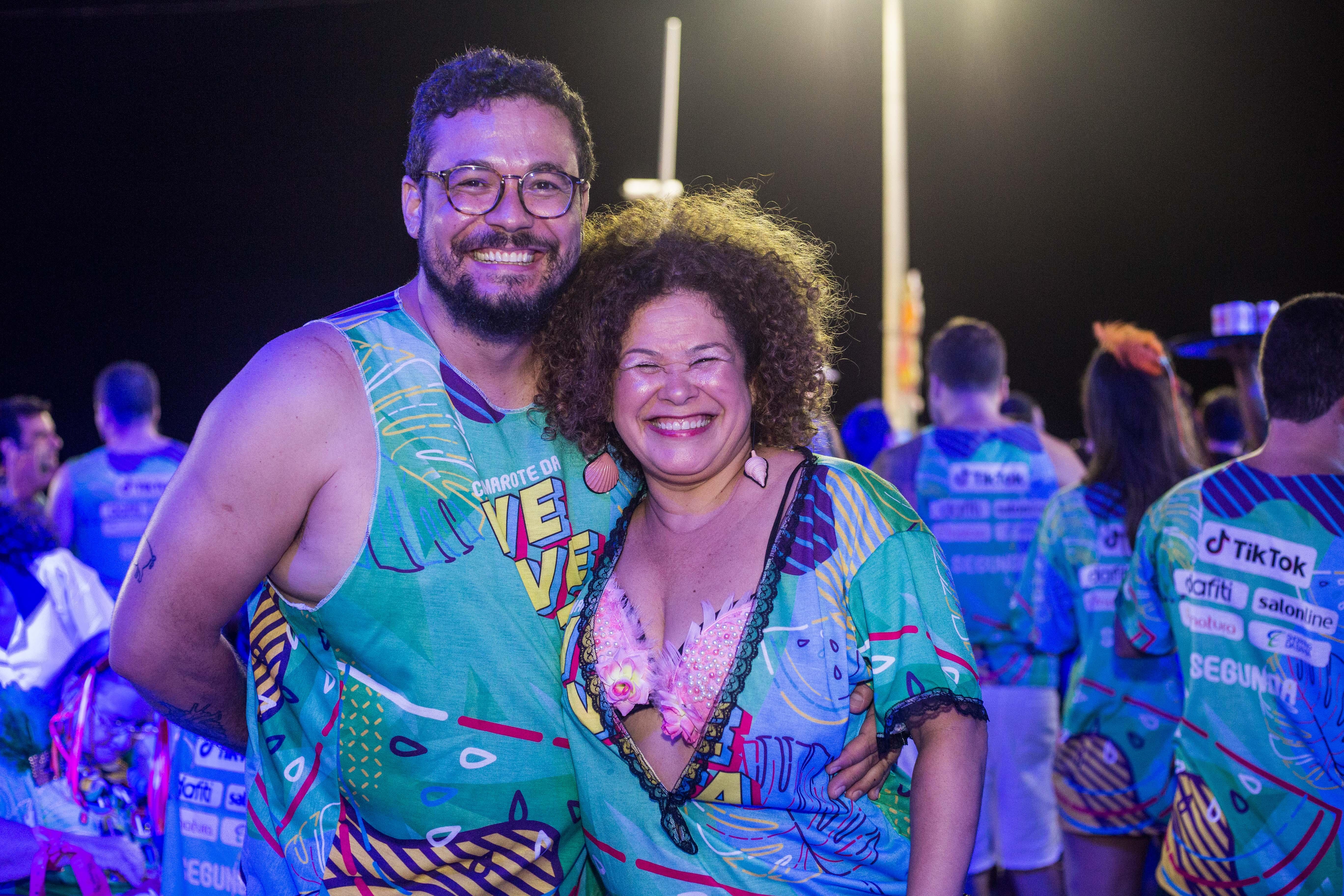 Ricardo Silva e Lia Pinho