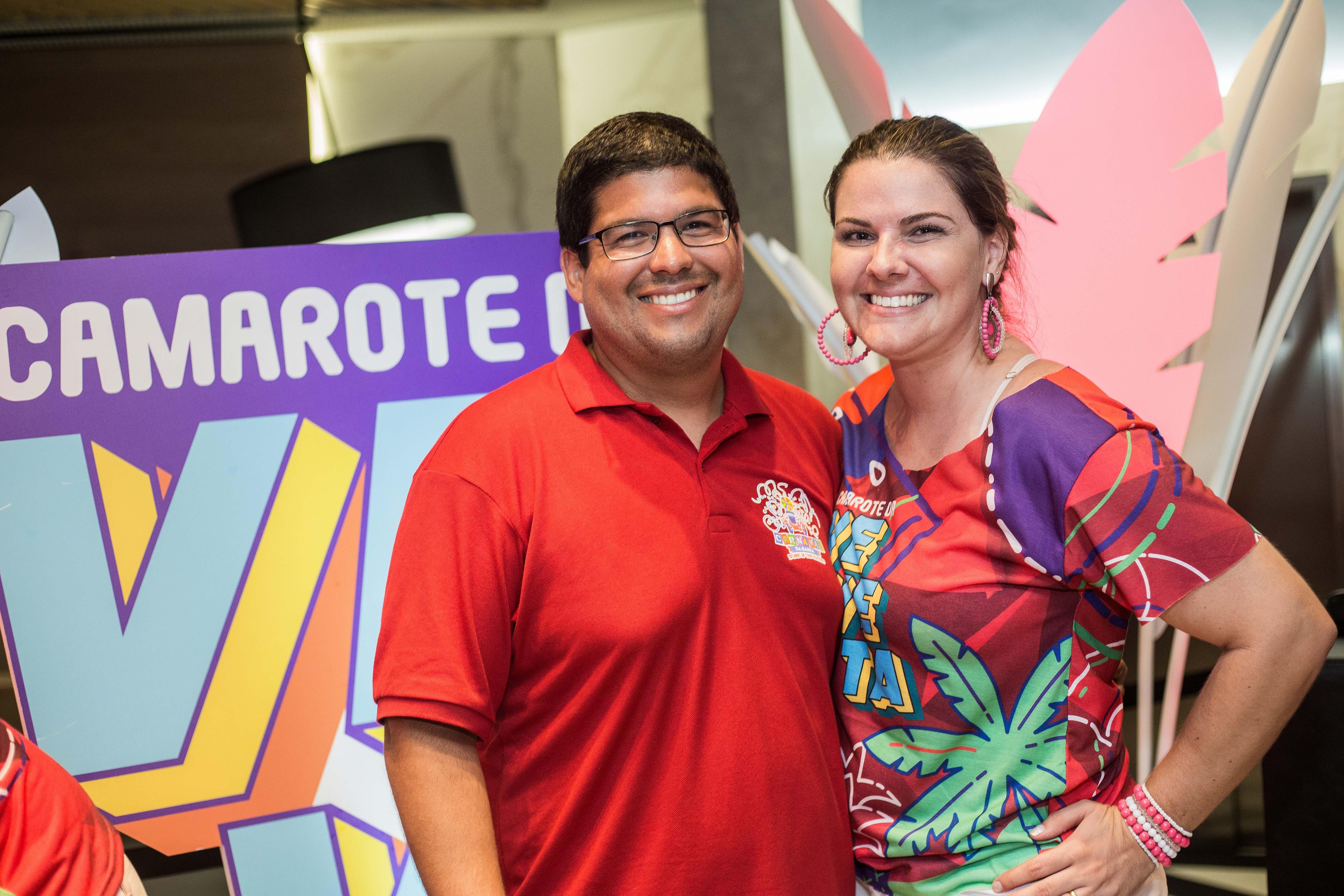Diogo e Julia Medrado