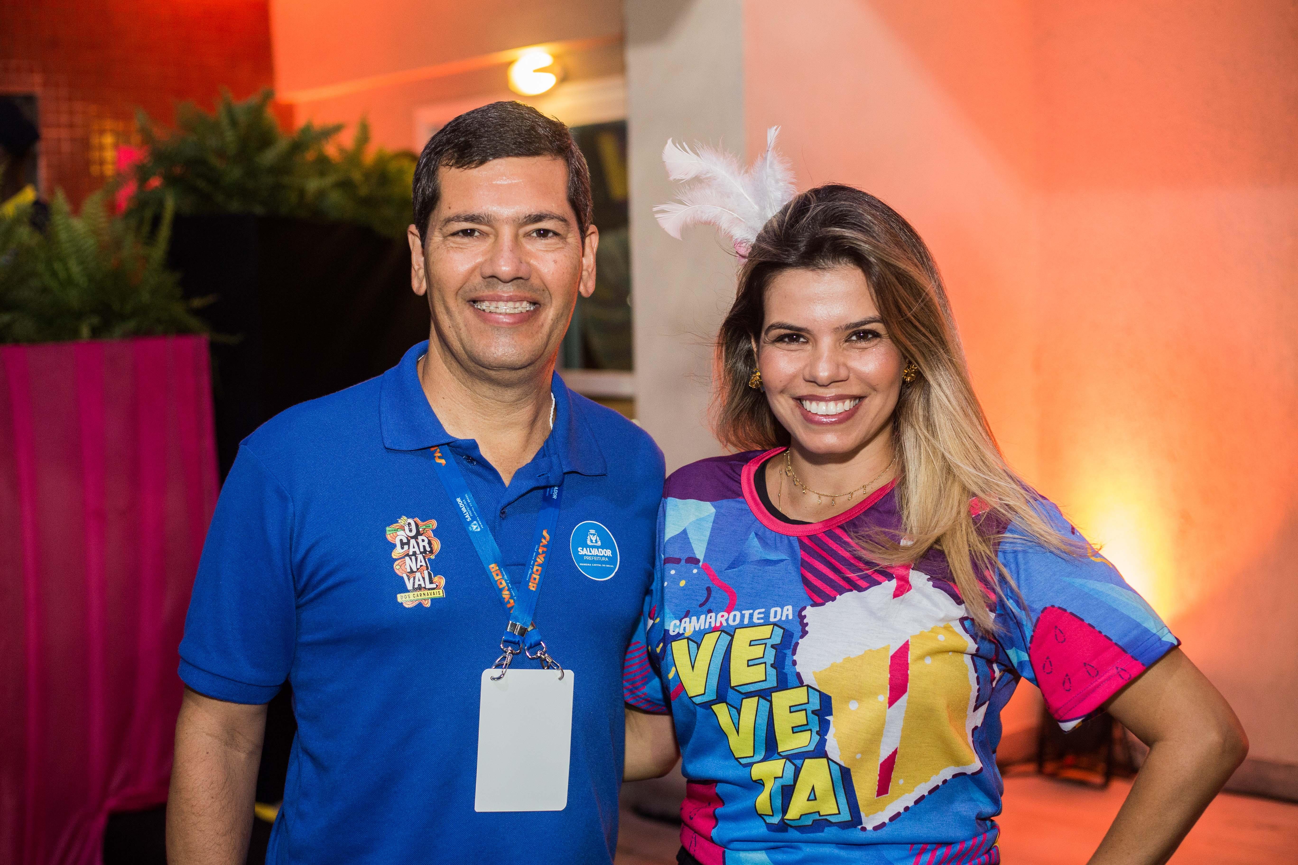 Claudio e Alana Tinoco