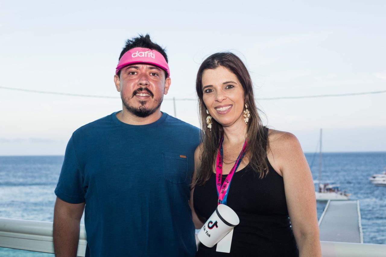Leonardo Monteiro e Gabriela Bandeira