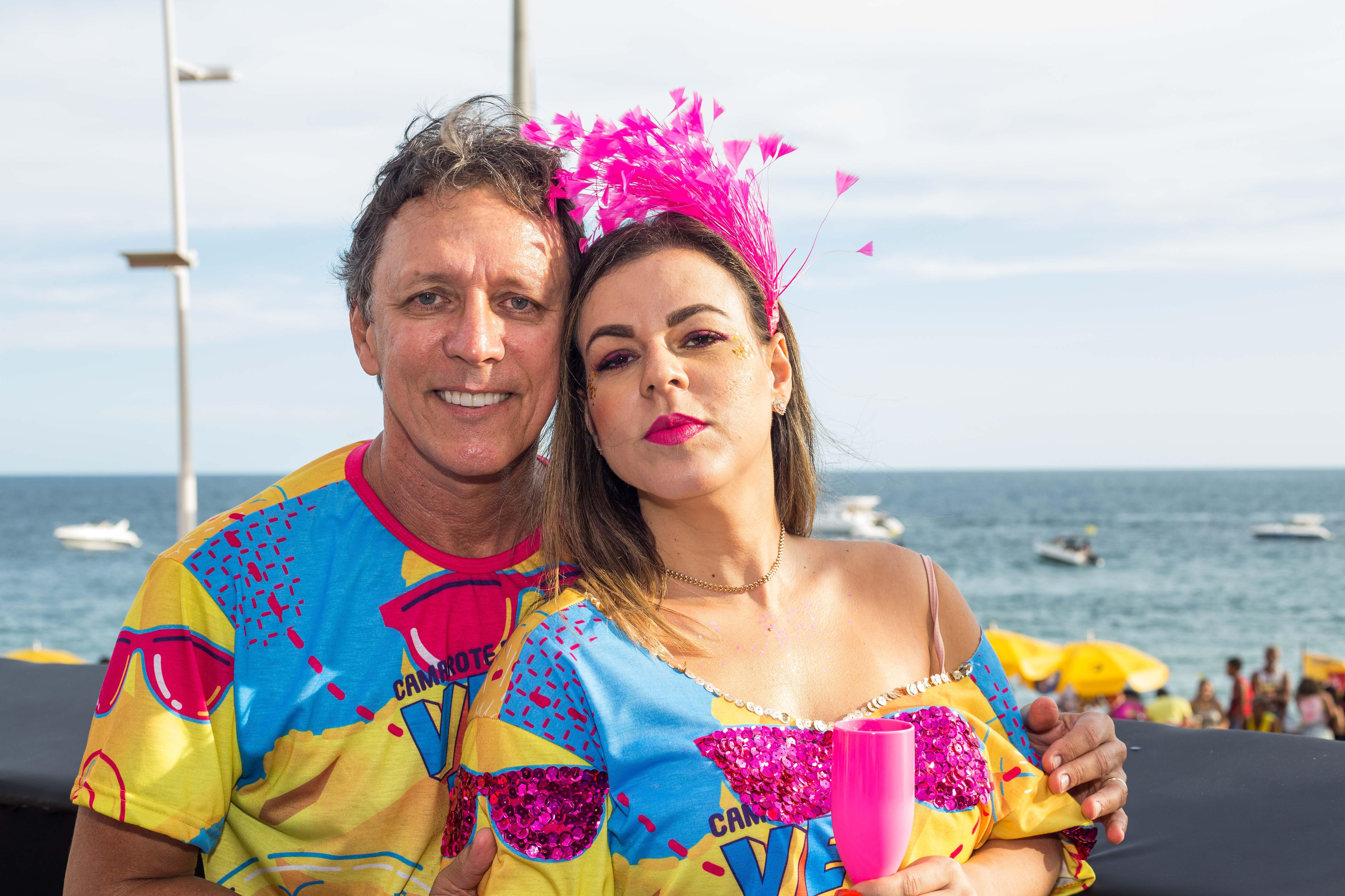 Manuel Pinto e Karine Silva