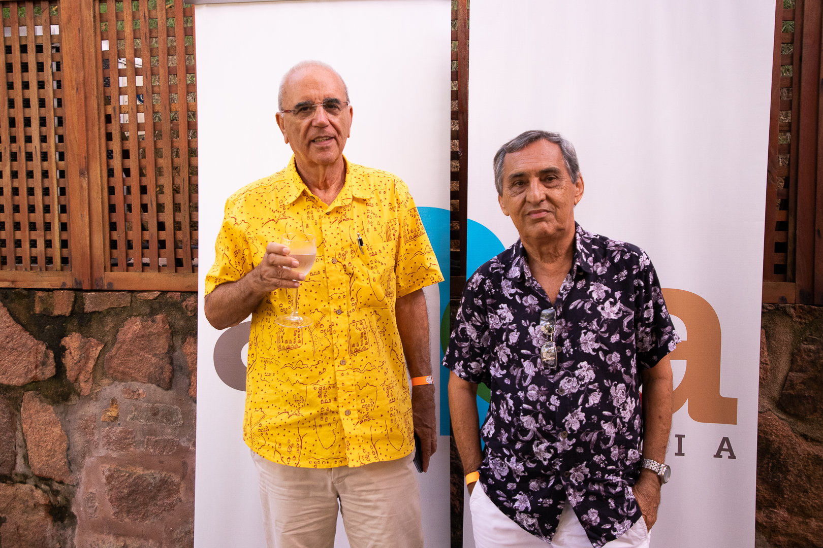 Valdemar e José Dirson Argolo