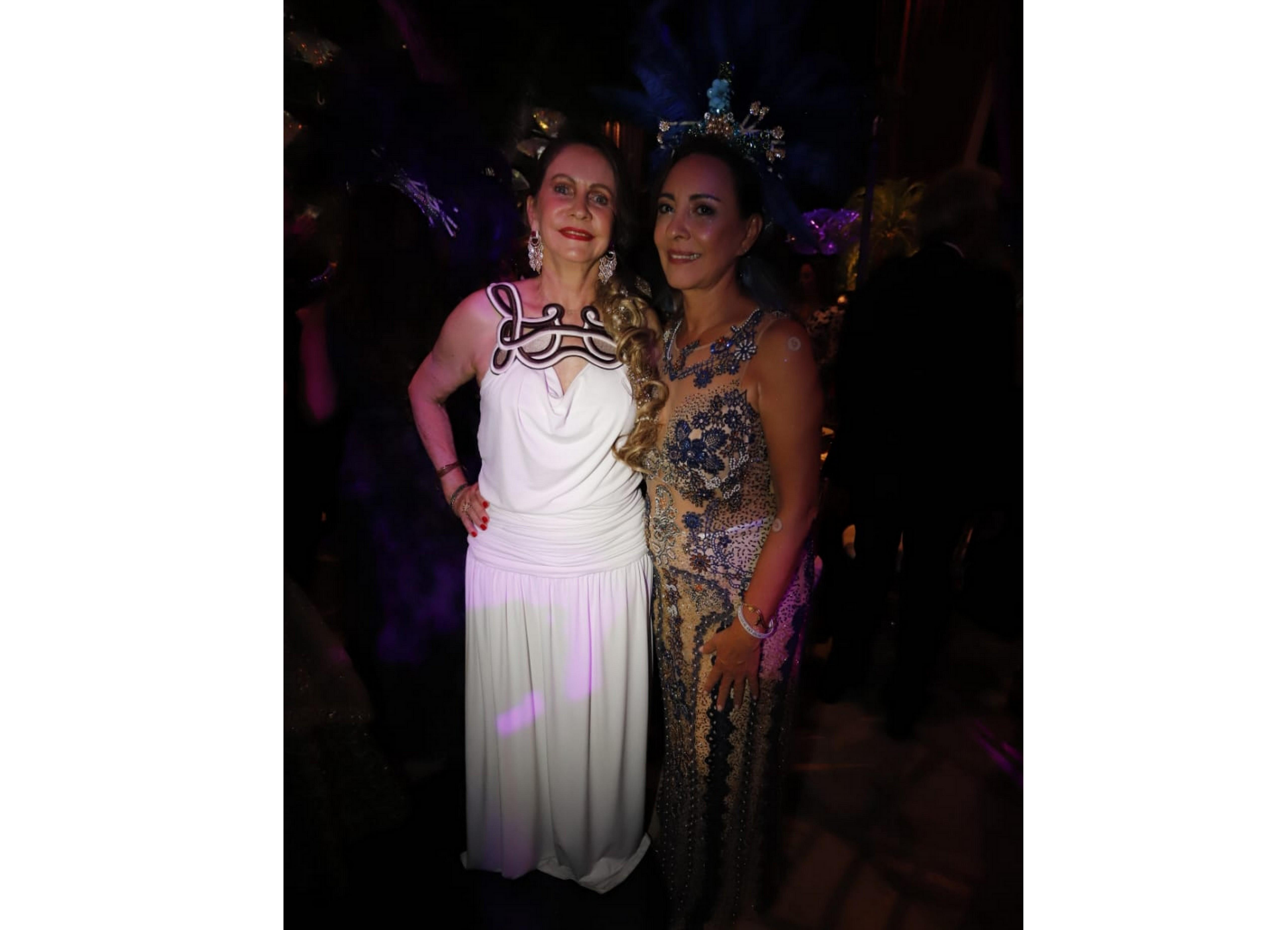 Helena Fialho e Olívia Cavalcante