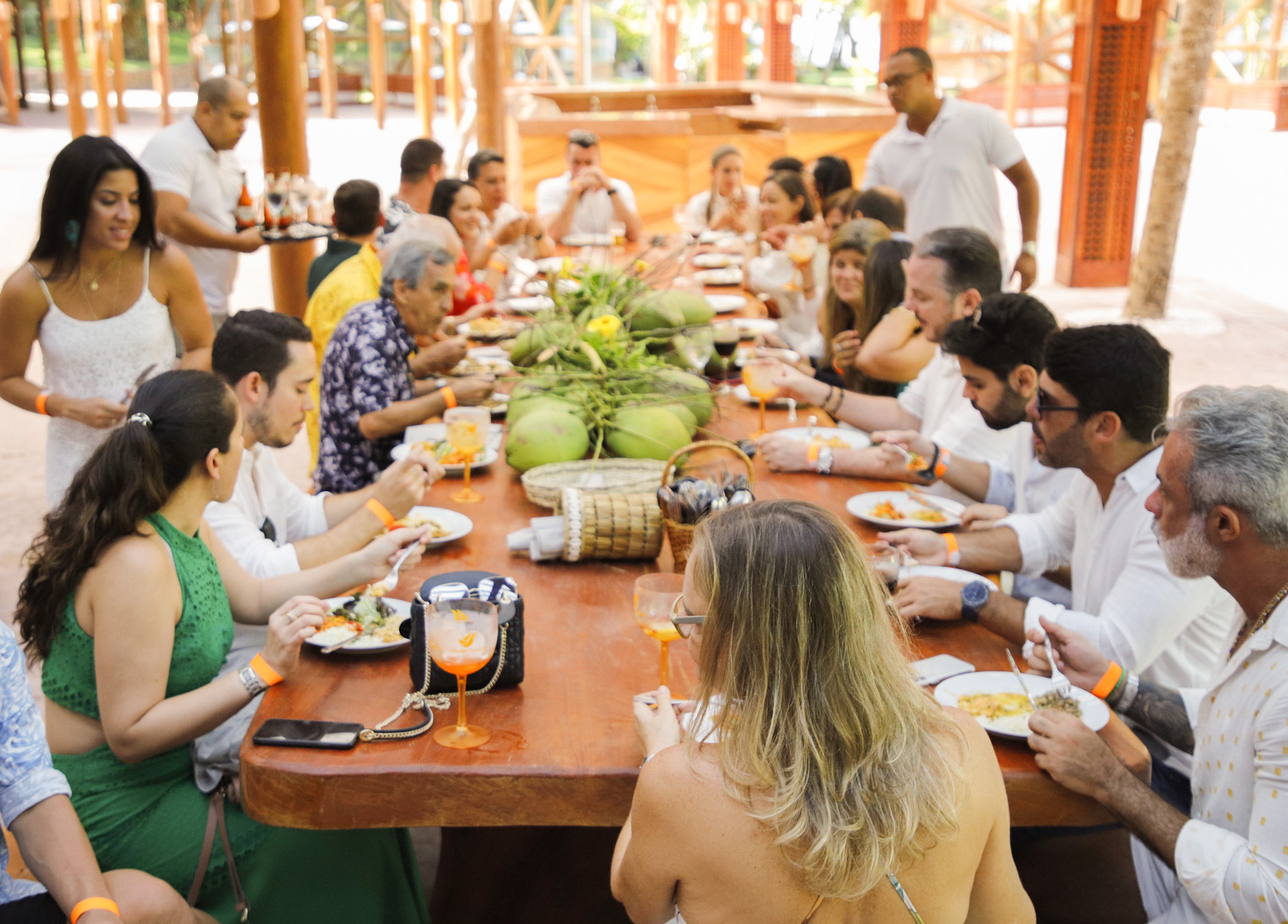 Almoço assinado pelo Restaurante Preta
