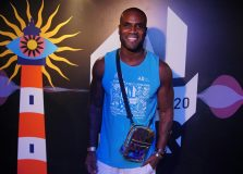 Rafael Zulu marca presença no Camarote Salvador