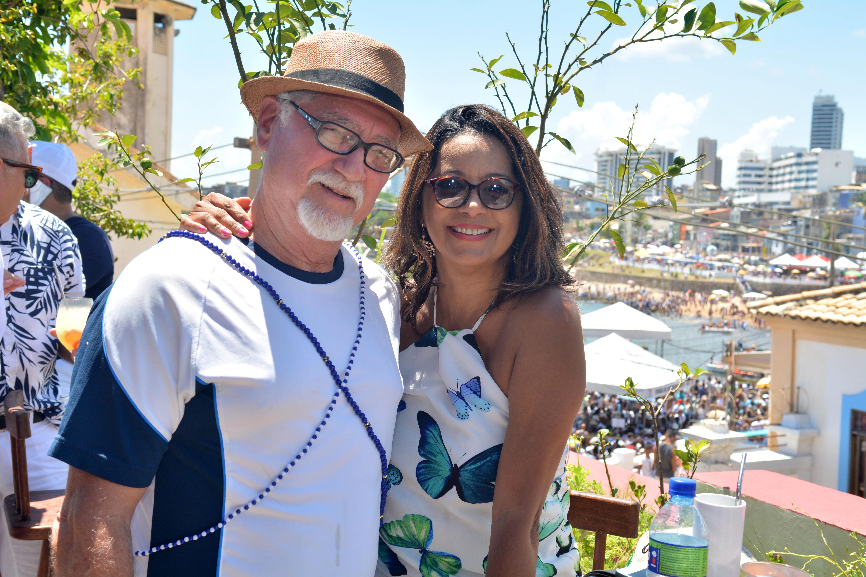 Renato Simões e Rosangela Lyra