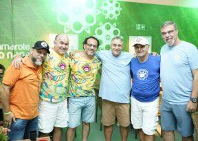 Tinho, Quinho e Adolfo Nery celebram parceria entre Nana e Central do Carnaval