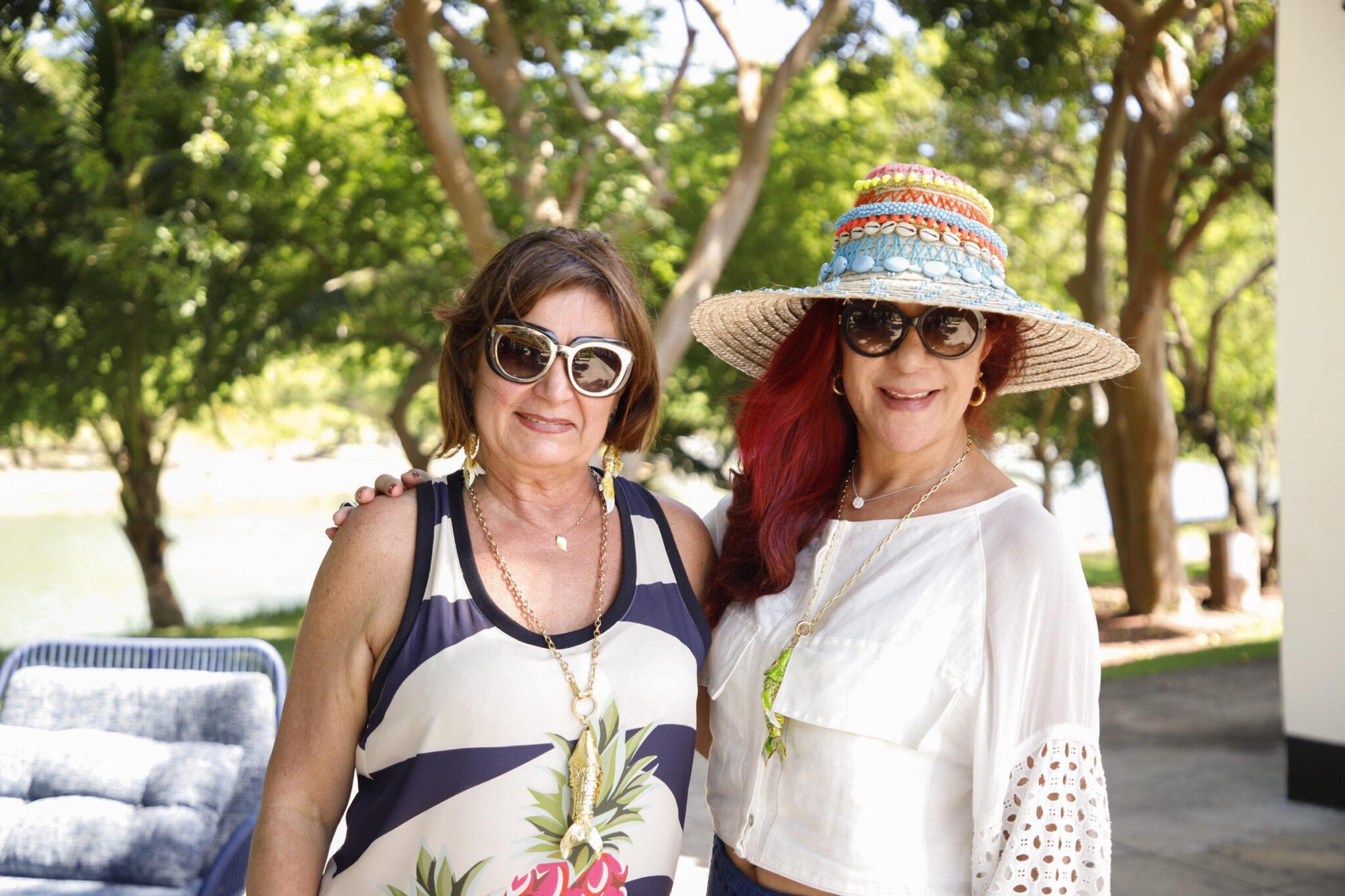 Celeste Leão e Jussara Amorim
