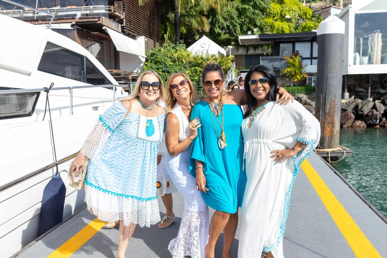 Ana Lídice Costa, Mery Castelo Branco, Adriana Régis e Marcia Perry