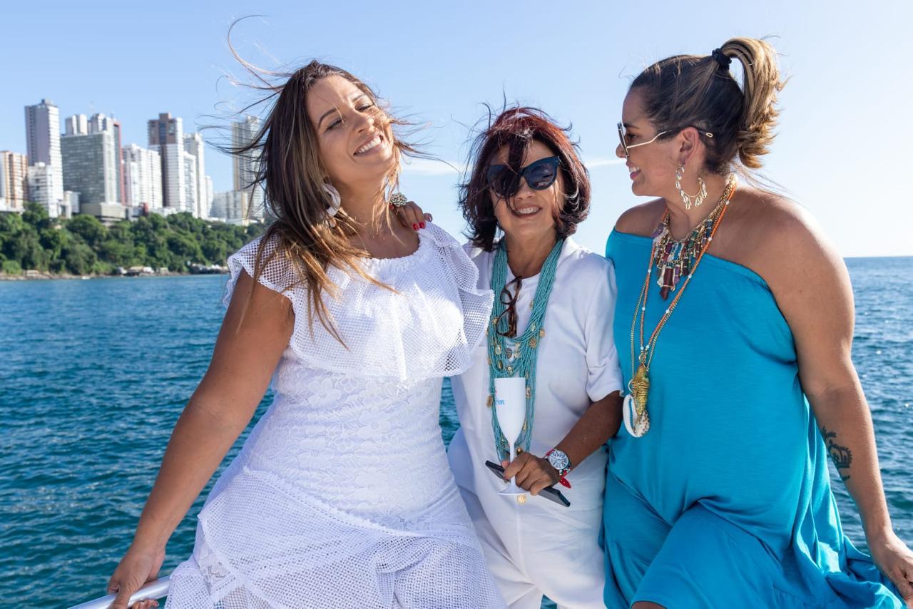 Maira Lobão, Celina Canaparro e Adriana Régis