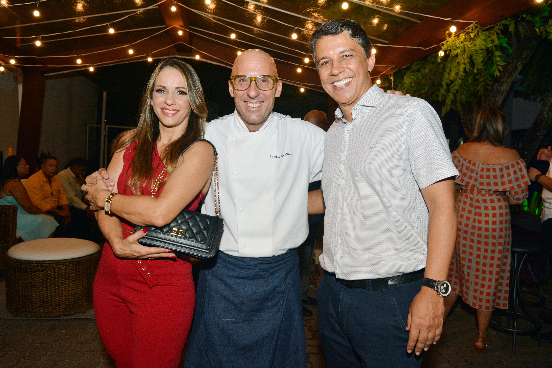Jô Abreu, Chef Lucius Gaudenzi e Jean Felix
