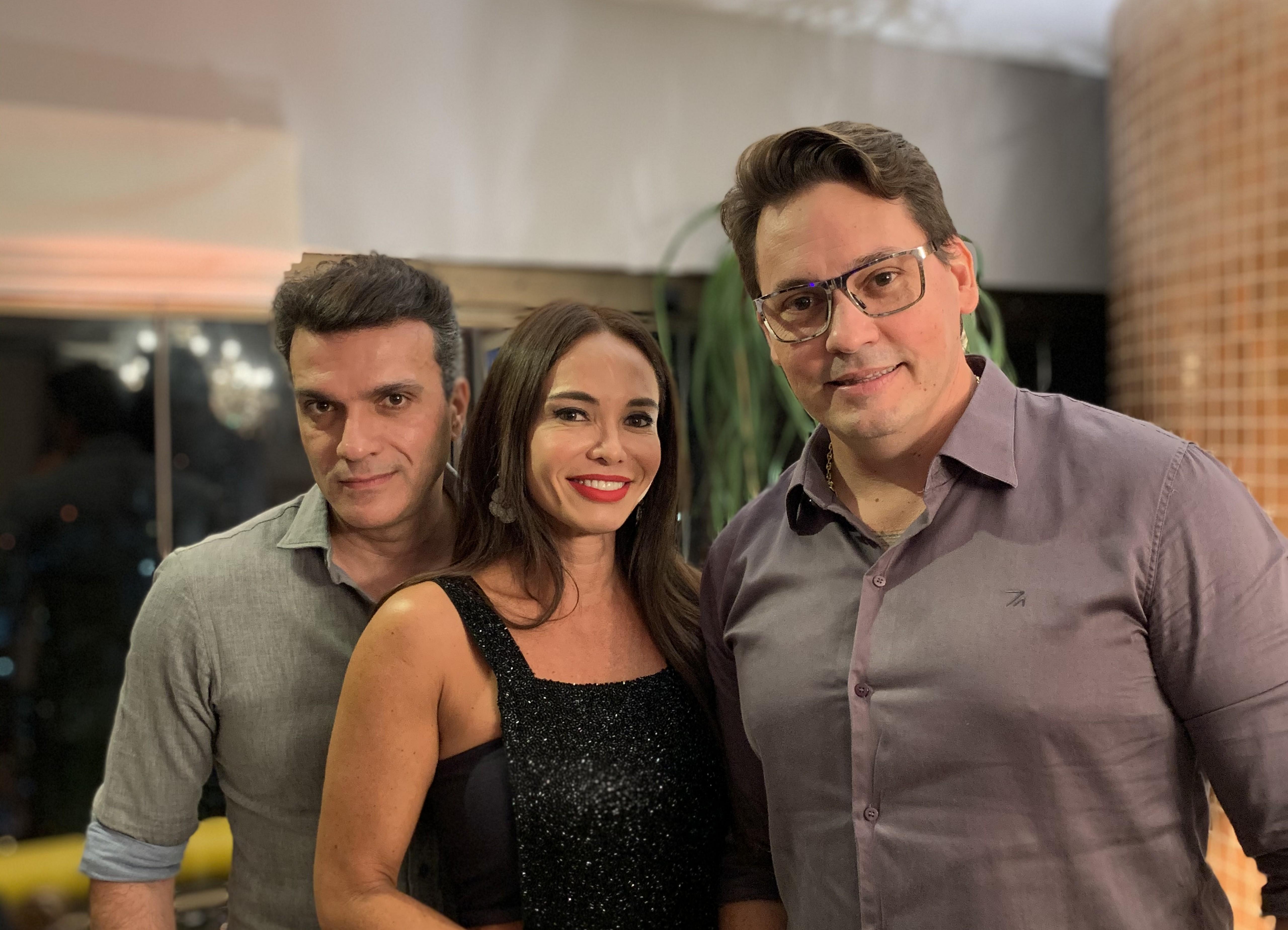 Marden Braga, Kyioko Sangalo e Arthur Gallas