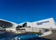 Aeroporto de Salvador registra roubo de 40 refis de álcool gel por dia