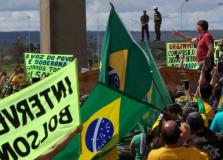 Aras pede que STF apure ligação de deputados com atos contra a democracia