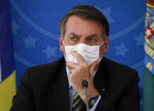 Bolsonaro pede a empresários 'guerra' contra Doria para evitar 'lockdown'