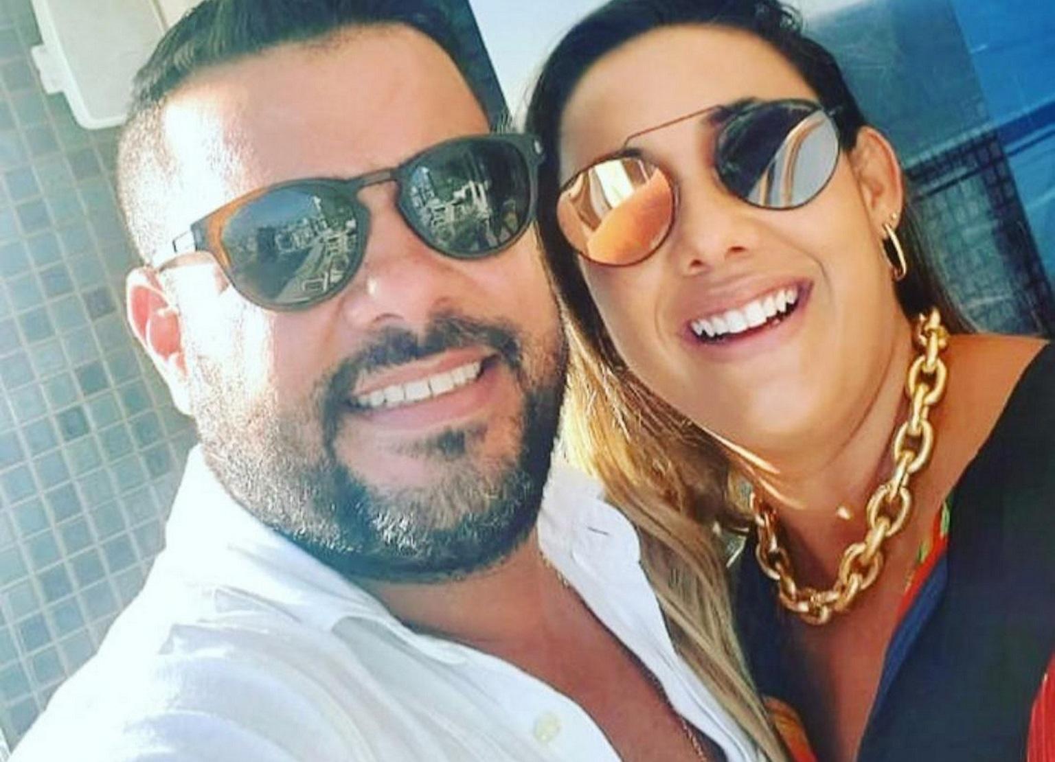 Roger Bolaños e Roberta Badaró